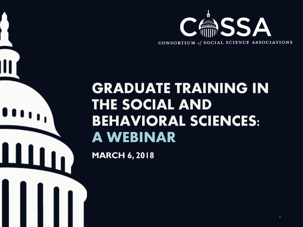 SBS Graduate Training Workshop Webinar